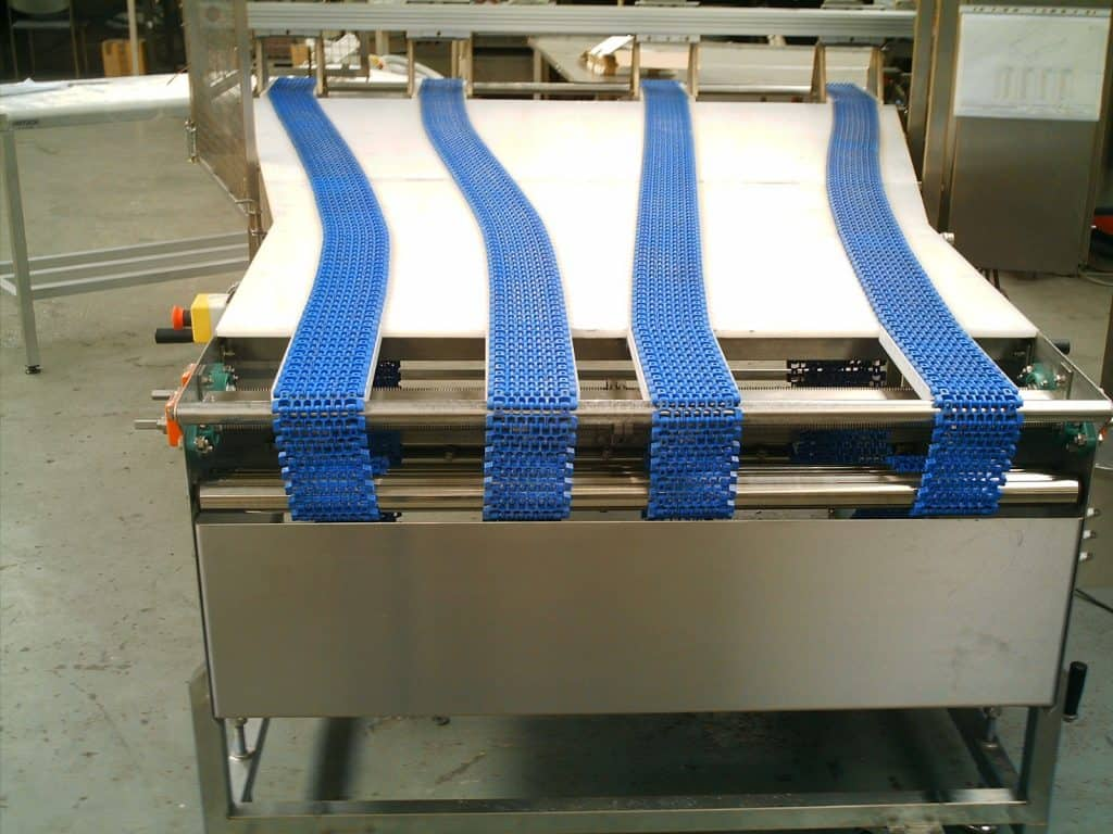 Modular Amp Slat Belt Conveyors Unitech Conveyors